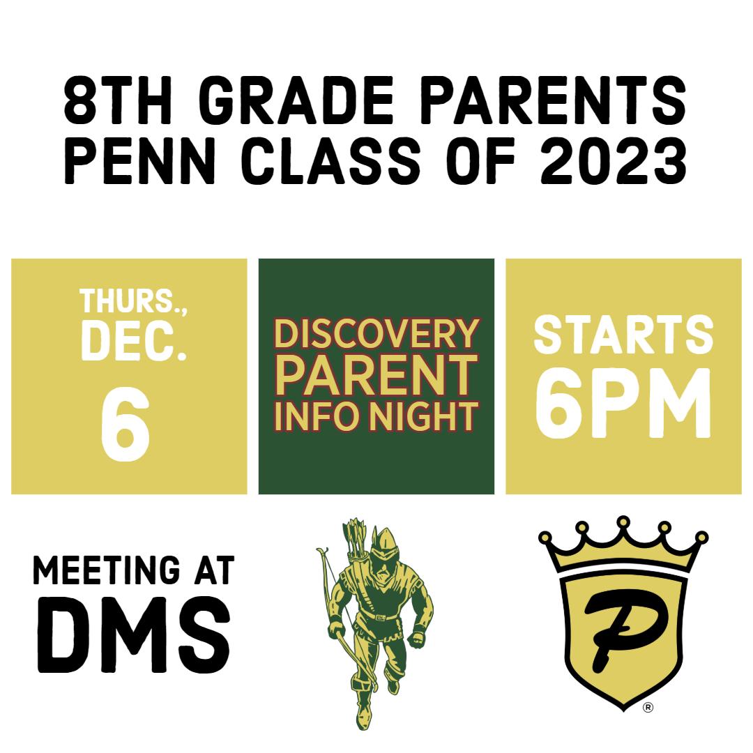 parent info night graphic