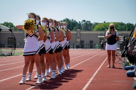 Penn Cheerleaders Aug. 22, 2020