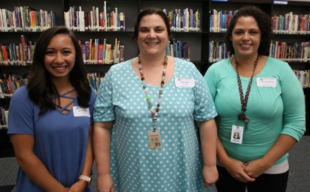 Gabriella Kintner (6th grade), Melody Kruger (Exceptional Education), Melissa Shemanski (Resource Teacher)