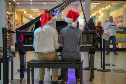 Discovery performs at University Park Mall