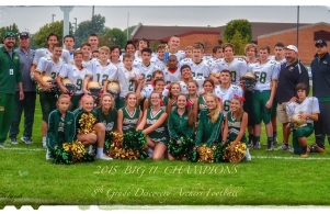 Archers are Big 11 Conference Champs - way to go 8th Grade Football!