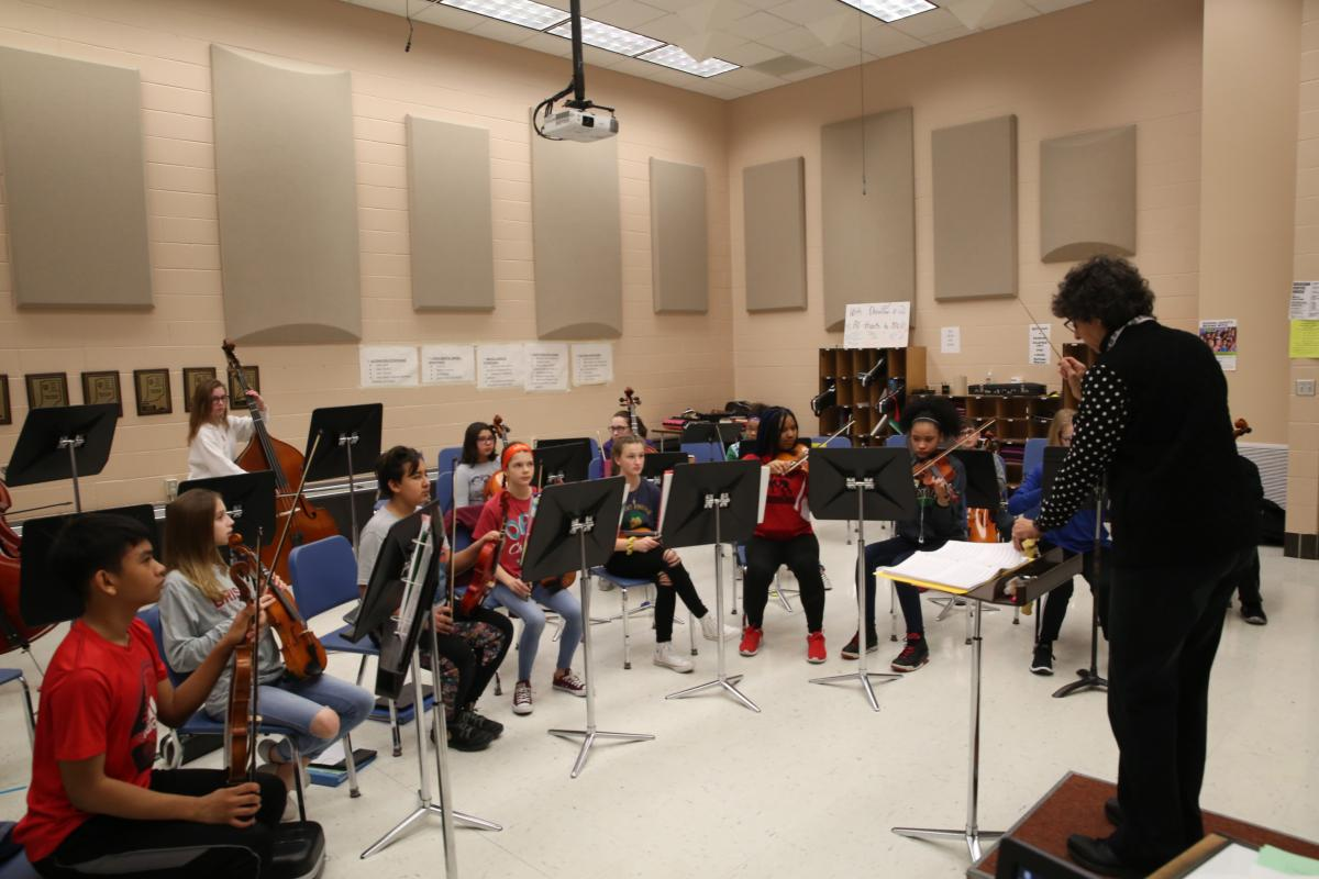Grissom Orchestra class (2019)